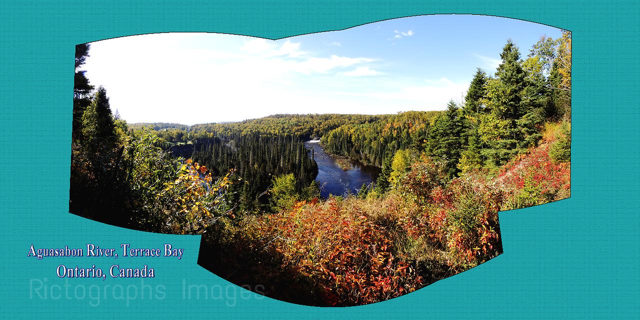 Aguasabon River, Terrace Bay, Ontario, Canada