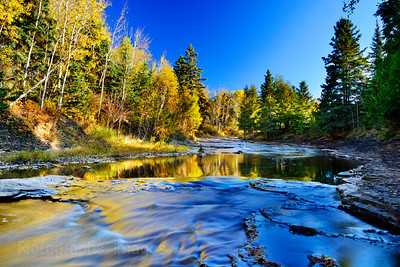 Autumn Along The MacIntyre River