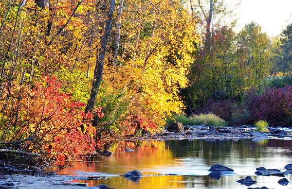 MacIntyre River, Thunder Bay Ontario, Canada
