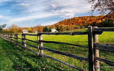 Fall colour in Hockley Valley,Ontario,Canada