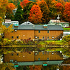 Fall colors in Shelburne Massachusetts