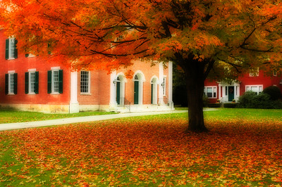 Fall Colours in Stockbridge Massachusetts, USA