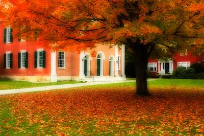 Fall Colours in Stockbridge Massachusetts, USA