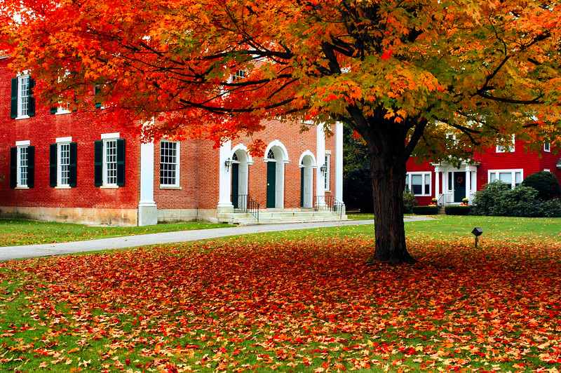 Fall in Stockbridge Massachusetts