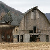 Barn in Great Valley, NY Fall season in Ellicottville, NY
