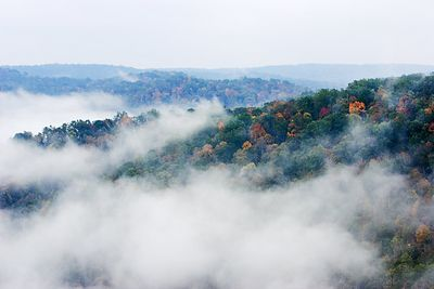 East Rim Overlook Heavy Fog
