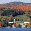 Fall Foliage on Lac Megantic