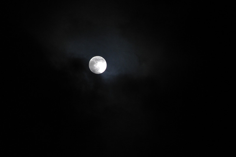 The moon was full when we got to Hakone on November 21st.