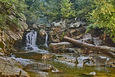 Scott's Run Falls on the Potomac River Virginia