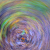 Abstract swirly fall colors - leaf maelstrom