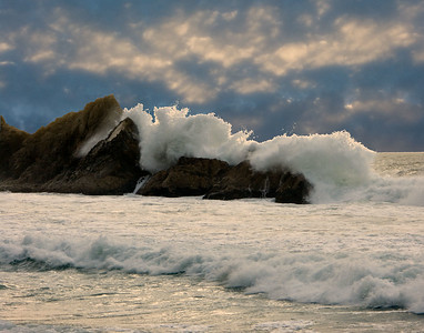 Wave at McClures Beach