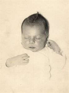 Art's baby picture from 1952