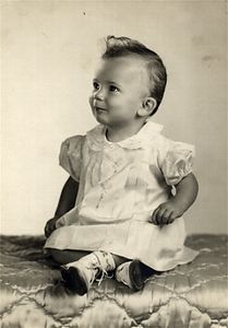 Cathy's baby picture  from1949