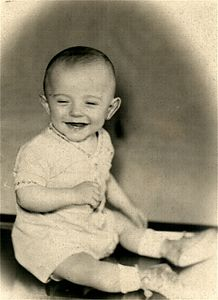 Jerry's baby Picture  from 1947