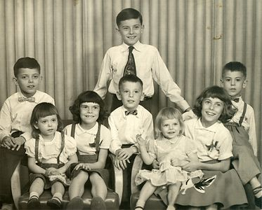 All eight kids - photograph 2