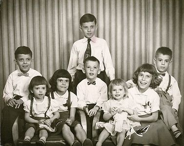 All eight kids -photograph 1