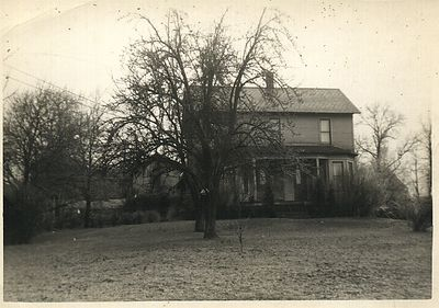 The Chenevey family farm which was built by Josephines' Great Uncle Peter, where she was raised.. In 1917,  Josephine and Arthur bought the house from Josephines father, who had purchased the house from his Uncle Peter years before.  It still stands today.  It was sold in1963 to an amish family.