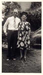 Arthur and Josephine Chenevey (1940's)