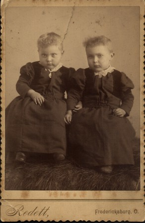(left) Priscilla Marthy & Josephine Marthy 1890's