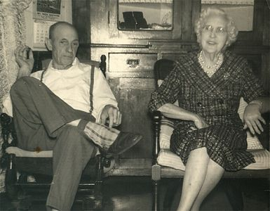 Arthur and Josephine Chenevey early 1960's.
