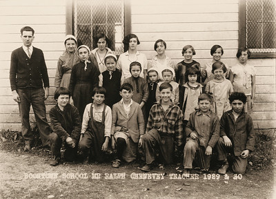 BoonTown School, 1929-1930