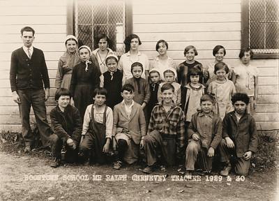BoonTown School, 1929-1930