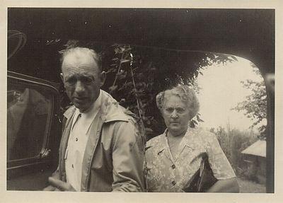 Grandma and Granpa Chenevey in the 1950's