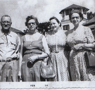 My mothers Uncle Jim and Aunt Florence.. The other ladies  names are unknown.