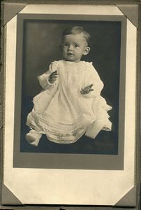 Dorothy Rays' (Mom) Baby Picture, taken in 1920.