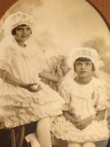 Mom and Aunt Betty's 1st Communion