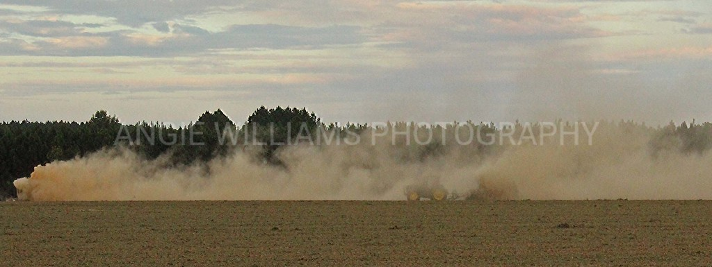 Plowing in the Dust