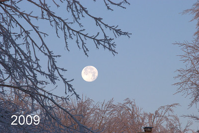 Good Morning Moon. I ended using this for our family calendar cover.