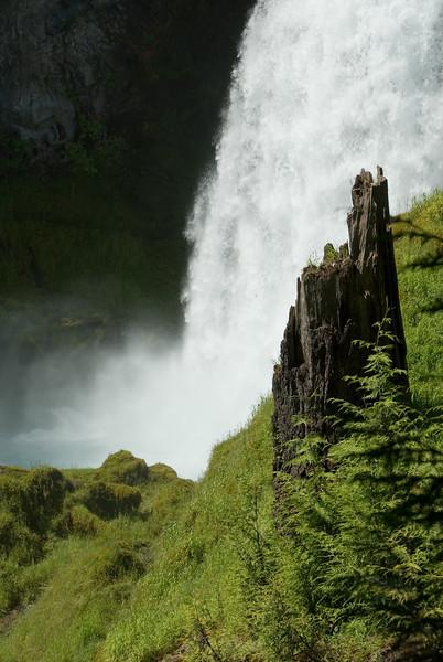 Closeup view of Sahalie Falls. The roar of the falls was LOUD!<br /> D200_2007-07-05DSC_1035-SahalieFallsCloseup-2.jpg