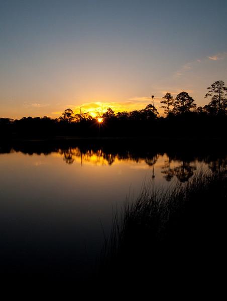 Sunrise in Rocky Bayou