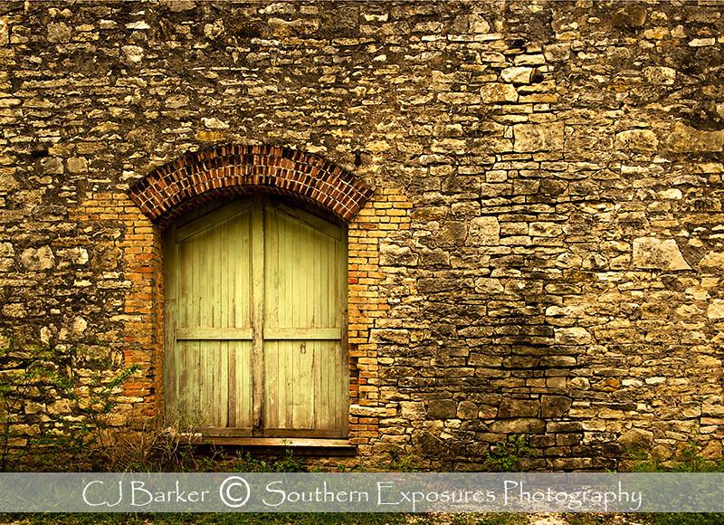 Old door in Bertram, Texas