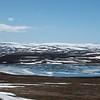 The Tundra, lakes and marshes between Tana and Kongsfjord in Varanger National Park.
