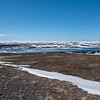The Tundra, lakes and marshes between Tana and Kongsfjord in the Varanger National Park.