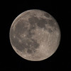 Full Moon seen through 600mm Telephoto - 12 Oct 2011