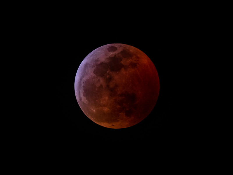 Total Lunar Eclipse - 20 Jan 2019