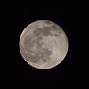 Full Moon seen through 400mm Telephoto - 2 Dec 2009