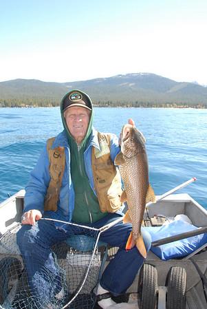 Fishing Lake Tahoe 2010