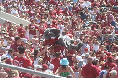 Big Al at a Alabama Game