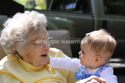 Grandmama and One of her Great Grandaughters