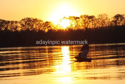 Sunset at Florence Marina State Park