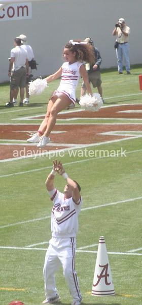 2007 A-Day Alabama football game