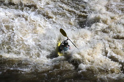 Kayaker on the Chattahoochee