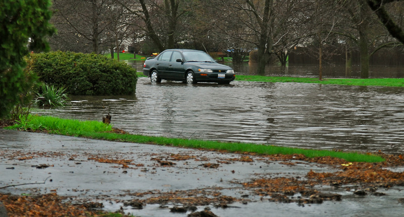 Stalled on Knoch Knolls Road