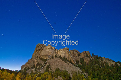 Mt Rushmore and URSA Major