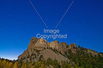 Mt Rushmore and URSA Major