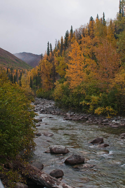 Little Susitna River, Hatcher Pass State Park near Wasilla, Alaska - September 2011
